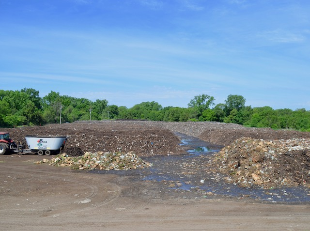 A view of the Rosemount site the company Specialized Environmental Technologies uses to create compost.