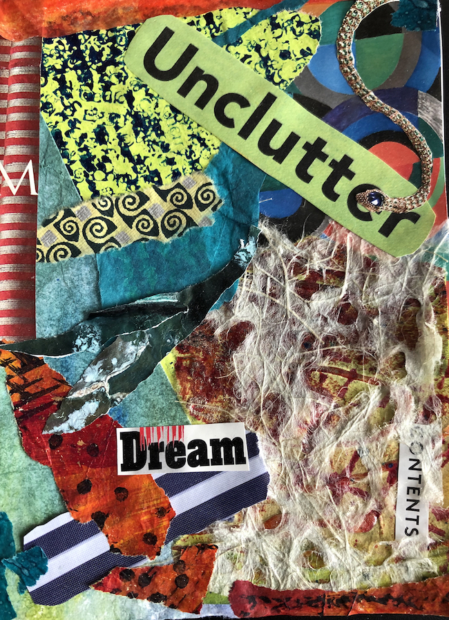 Unclutter Collage