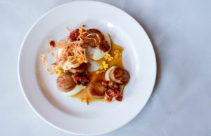 Scallops from Normandy Kitchen